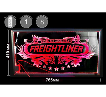 Панно в спальный отсек FREIGHTLINER Прозрачное RGBW