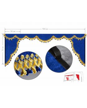 Комплект Ламбрекен лобового окна и уголки (Америка)