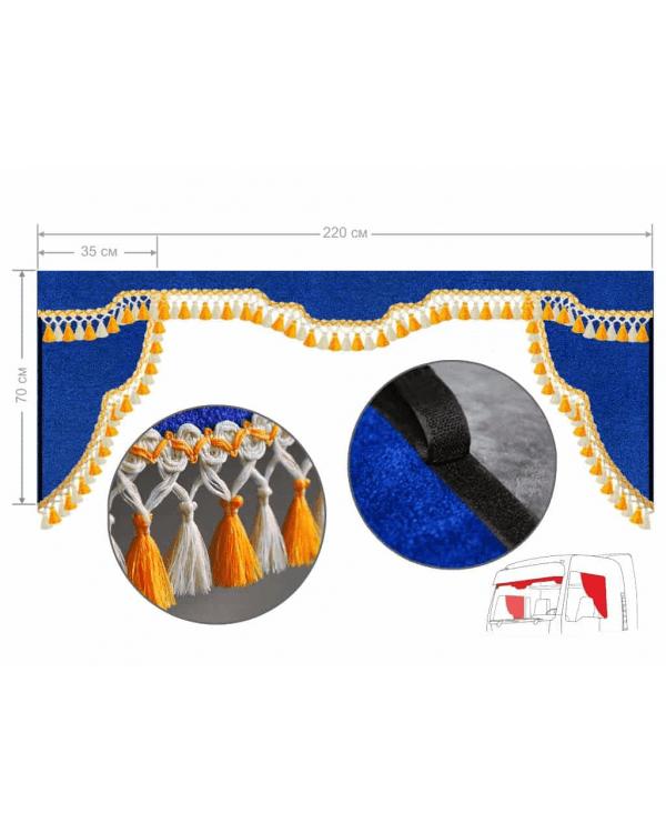 Комплект Ламбрекен лобового окна и уголки (Европа/Стандарт)