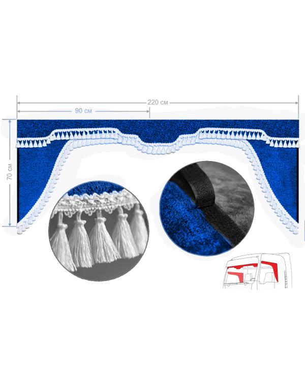 Комплект Ламбрекен лобового окна и удлиненные уголки (Европа/Стандарт )