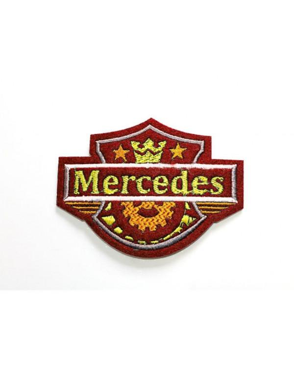 Шеврон MERCEDES Корона