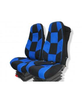 """Чехлы VOLVO FH 16 """"Racing Style"""" (С подлокотником)"""