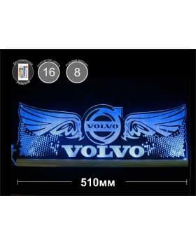 Светодиодная табличка VOLVO (крылья) 510мм