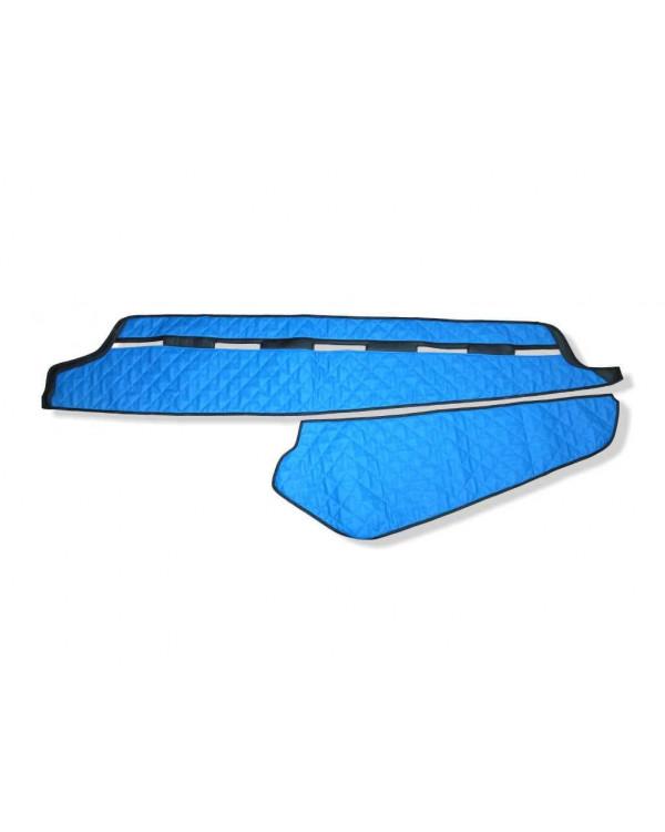 Коврик-Накидка на панель VOLVO FH 16 Синяя