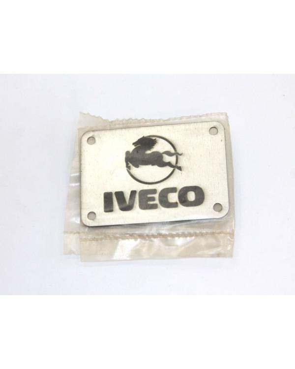 Табличка для коврика IVECO на заклепках