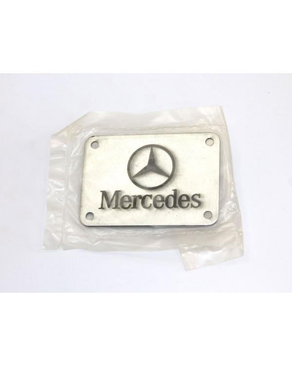 Табличка для коврика MERCEDES на заклепках