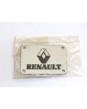 Табличка для коврика RENAULT на заклепках