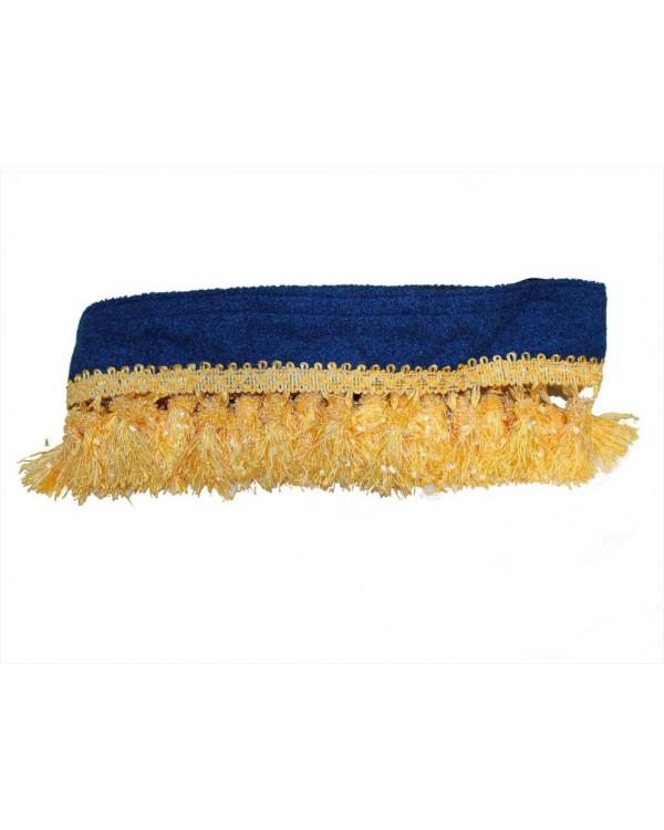Декоративное обрамление на люк грузовика синий