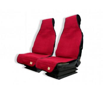 Накидка автомобильная Красная модель №19