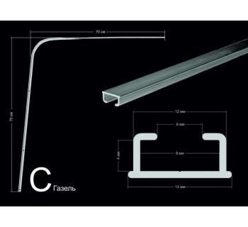 Комплект направляющих тип С (70*70см, потолочного/стенового крепления)