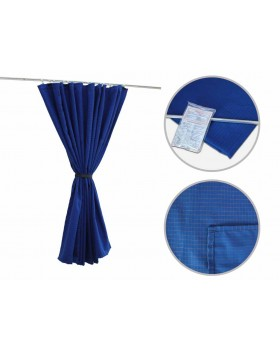 Комплект направляющих со шторами из ткани скитлс (тип С1 удлиненный)