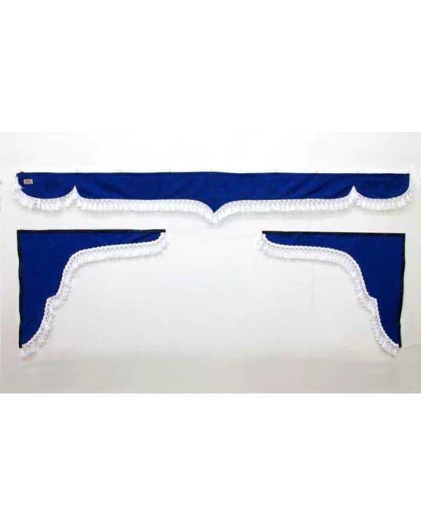 Комплект Ламбрекен лобового окна и удлиненные уголки (еврофуры)