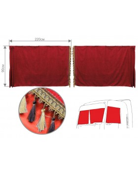 Шторы лобового окна для грузовых автомобилей (астра)