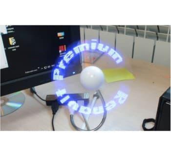 Вентилятор настольный USB настраиваемый