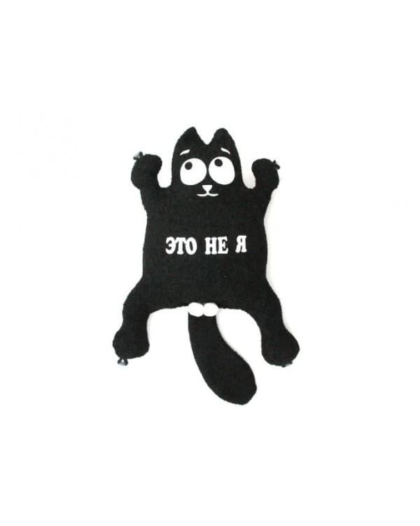 """Игрушка на присосках Кот """"Это не я"""" Черный"""