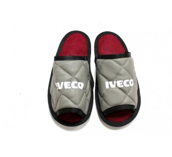 Тапочки экокожа IVECO (Серый)