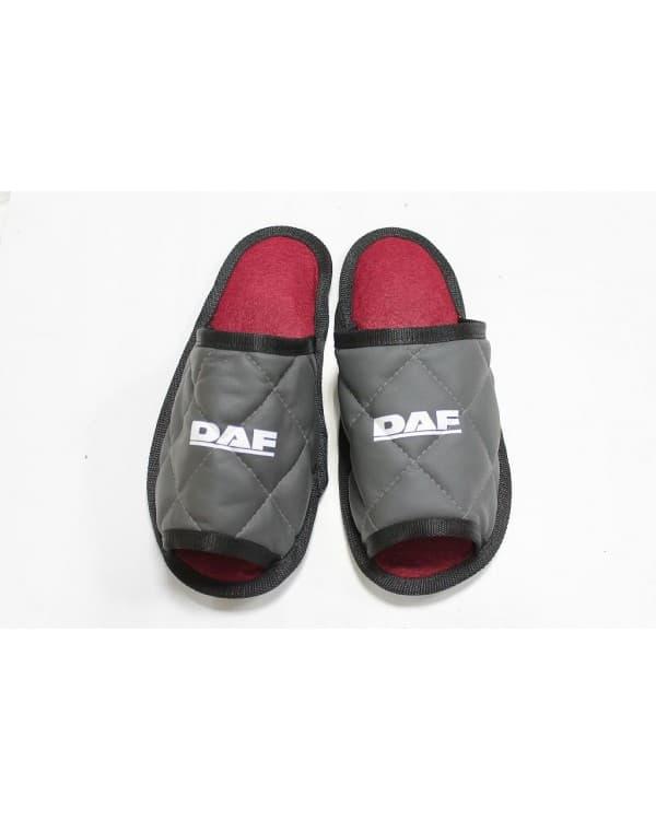 Тапочки экокожа DAF (Серый)