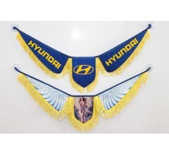 Вымпел HYUNDAI (крылья)