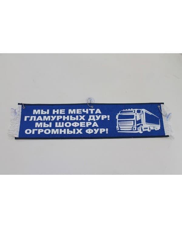 "Вымпел ""Мы не мечта гламурных дур"" (50 см)"