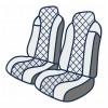 Комбинированные чехлы ткань/экокожа