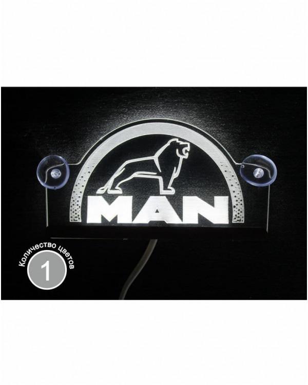 Светодиодная табличка MAN