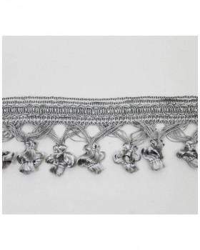 Бахрома Фонарик серебро