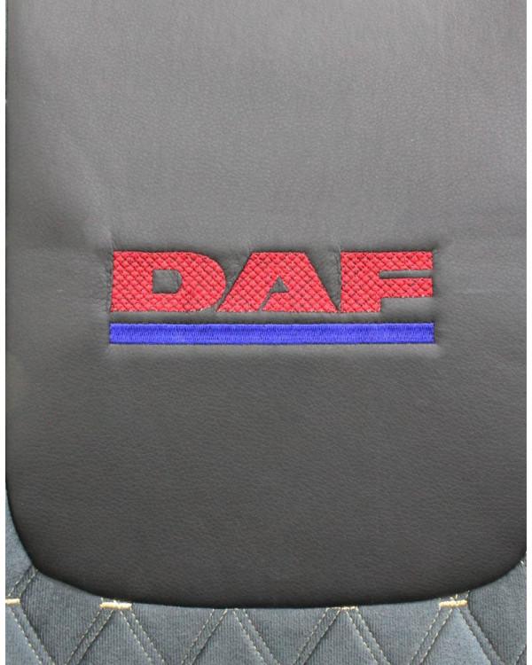 Чехлы DAF 105-106 Э/К велюр с вышивкой