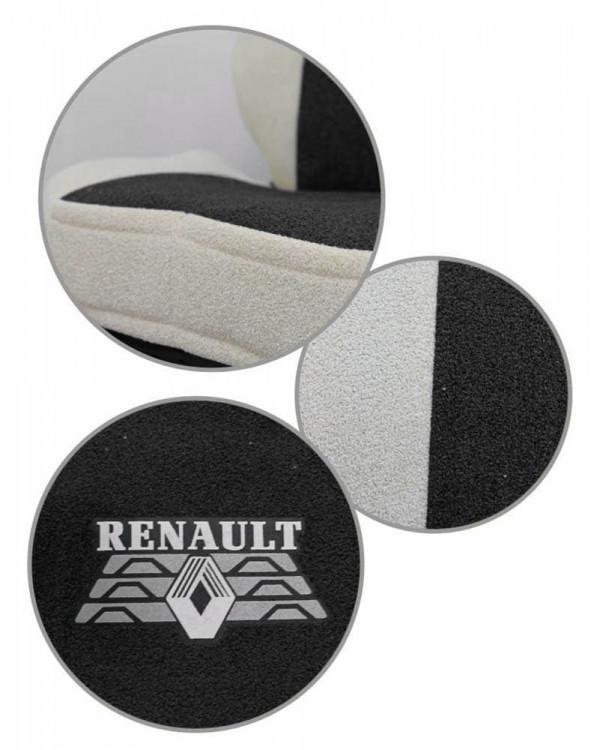 Чехлы Renault T440 Астра черная шелкография