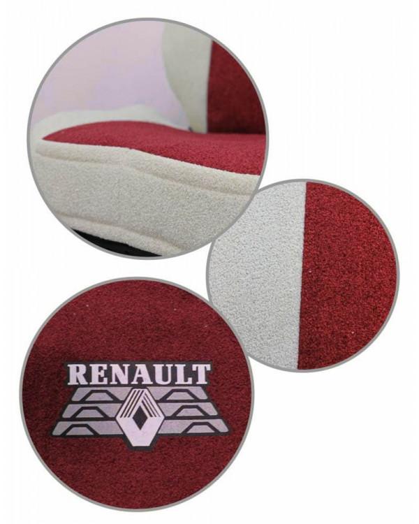 Чехлы Renault T440 Астра красная шелкография