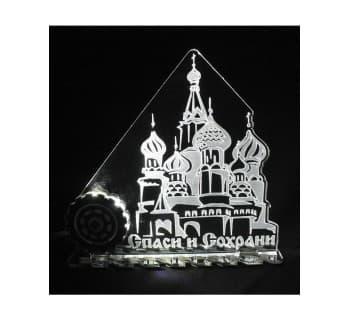 Светодиодная табличка мини Церковь