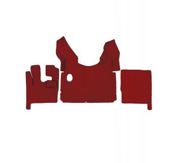 Коврик стеганный DAF 105 МКПП Красный