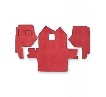 Коврик стеганный FREIGHLINER Columbia Красный