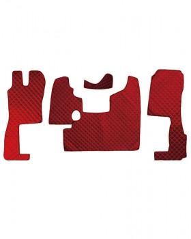 Коврик стеганный SCANIA R400-124L MКПП Красный