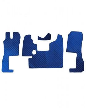 Коврик стеганный SCANIA R400-124L MКПП Синий