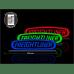 Светодиодная табличка FREIGHTLINER 590мм