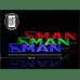 Светодиодная табличка MAN 590мм