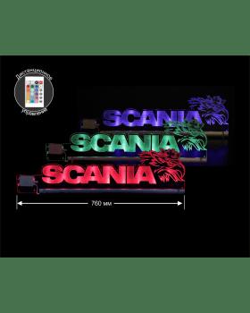 Светодиодная табличка SCANIA 760мм