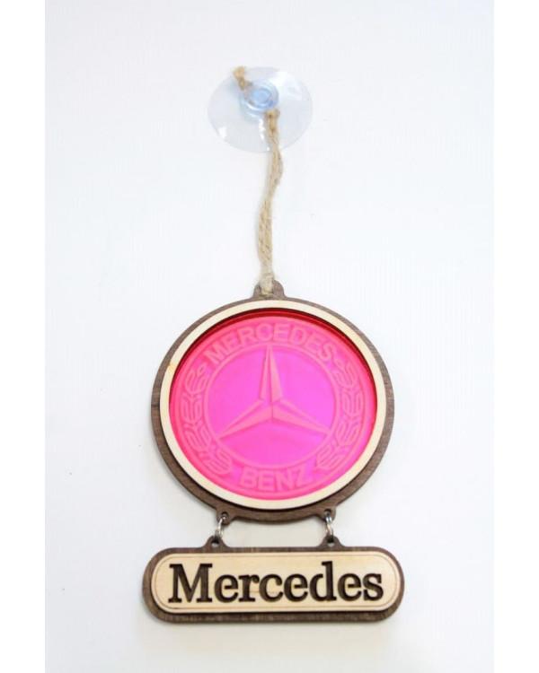 Подвеска витраж MERCEDES
