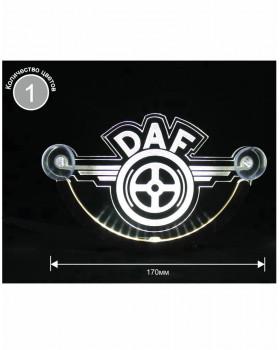 Светодиодная табличка DAF