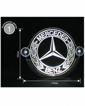 Светодиодная табличка Mercedes