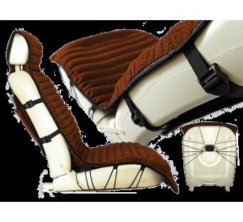 Накидка массажная с гречишной лузгой модель №18