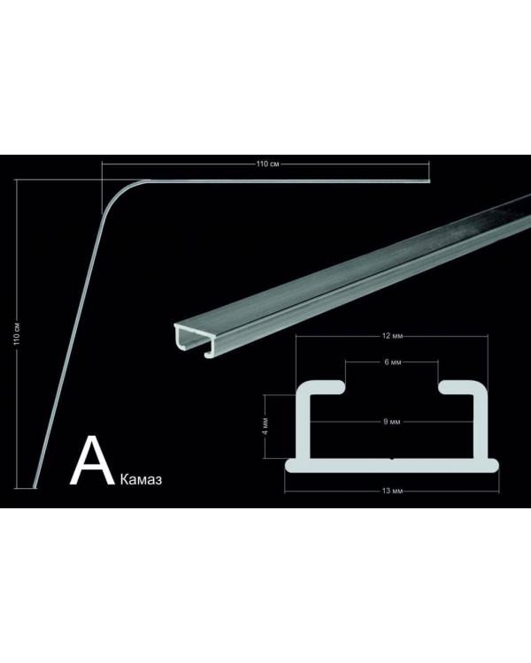 Комплект направляющих тип А (110х110 см, стеновое крепления)