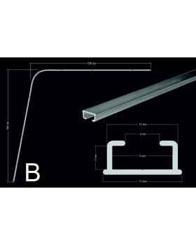Комплект направляющих тип В (106*106см, потолочного крепления)