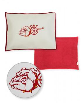 Подушка-наволочка на DAF Красная