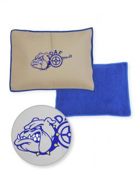 Подушка-наволочка на DAF Синяя