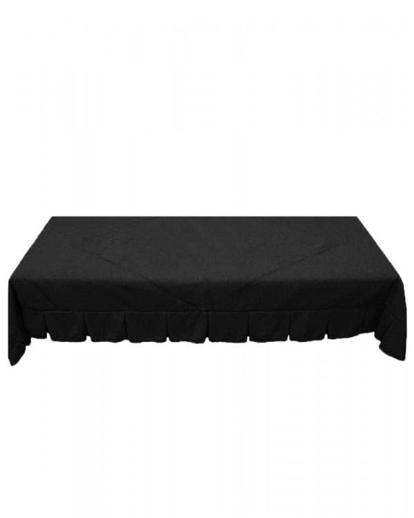 Черное покрывало стеганое для спального отсека грузовых автомобилей