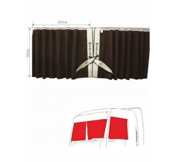 Шторы лобового окна сборка c вышивкой VOLVO