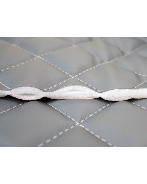 Задняя стенка спальника из ЭкоКожи (коричневый)