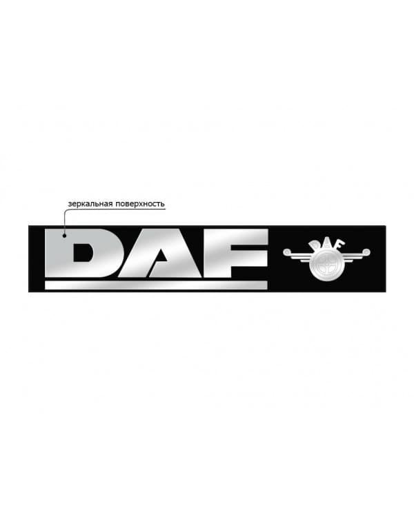 Наклейка из пластика для грузовика DAF
