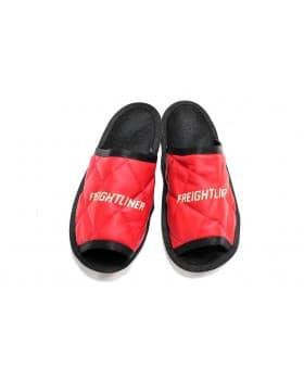 Тапочки экокожа FREIGHTLINER (Красный)